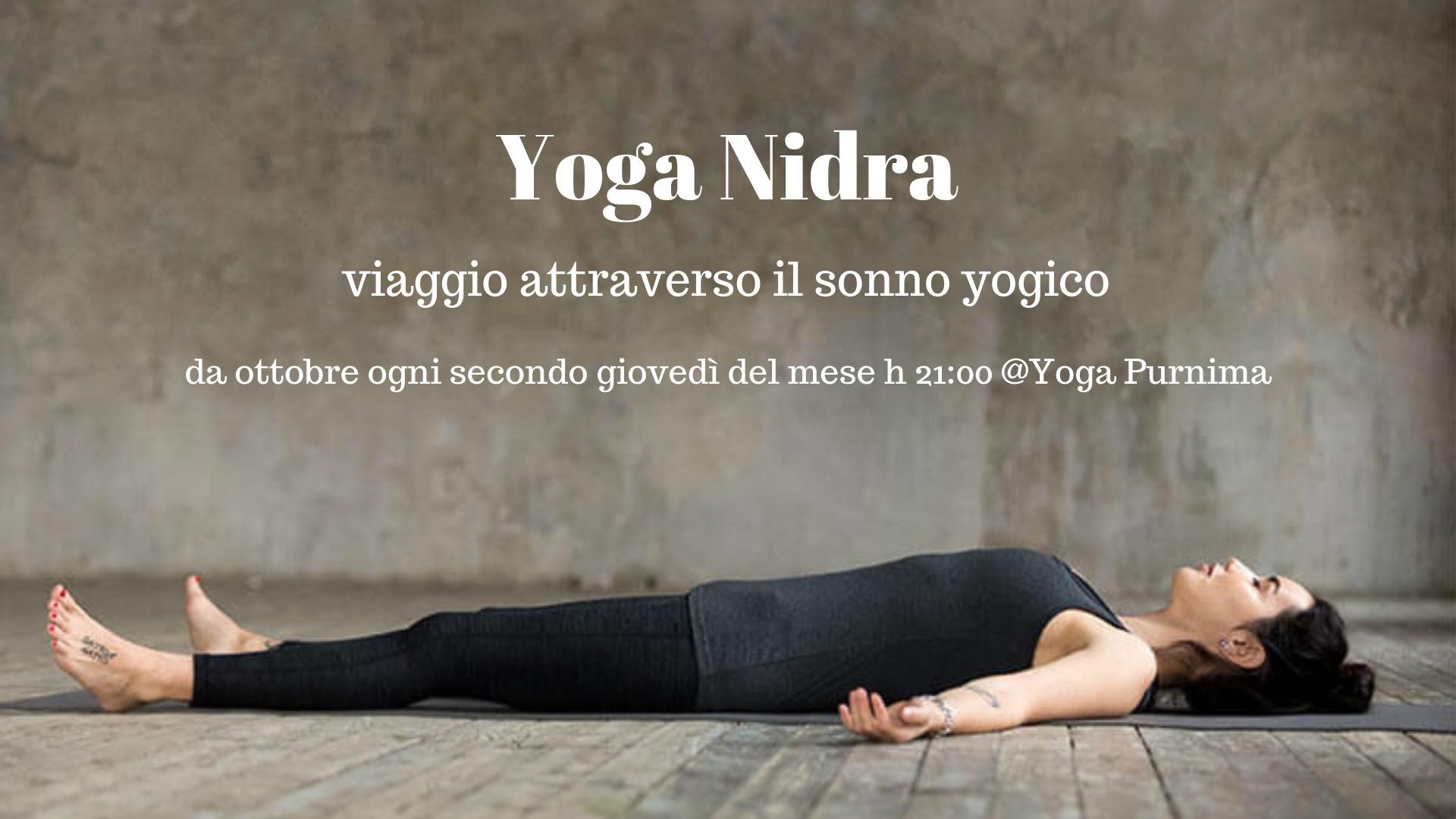 Incontri mensili di Yoga Nidra
