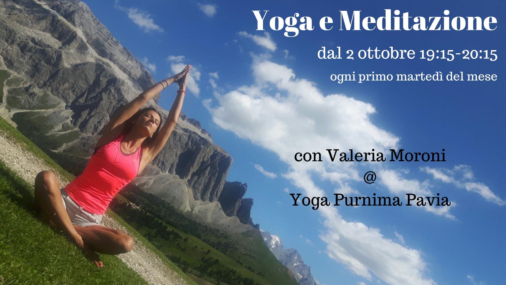 Incontri mensili di Yoga e Meditazione