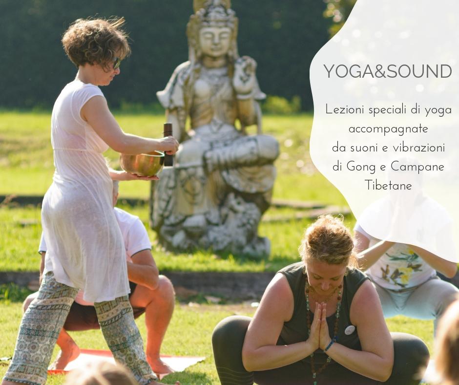 Yoga&Sound, sabato 6 ottobre primo di 3 appuntamenti speciali!