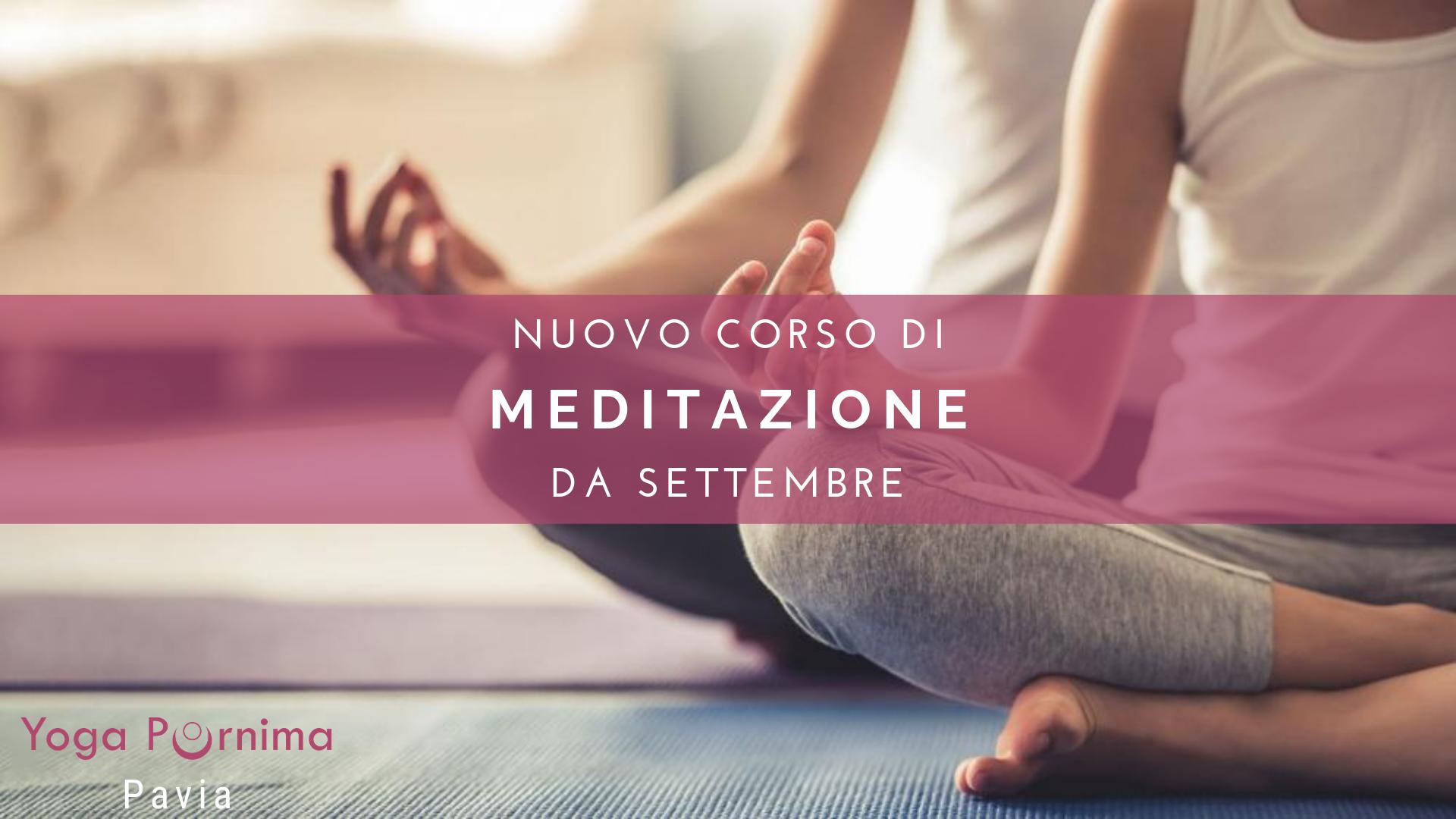 Nuovo corso di Meditazione