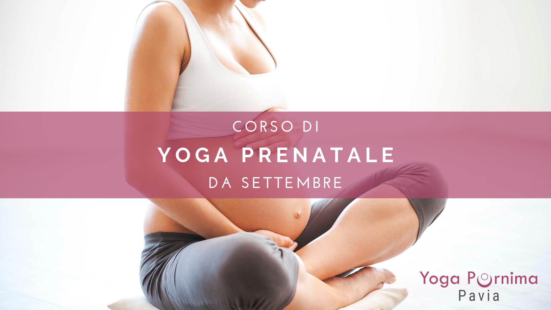 Ricominciano i corsi di Yoga per la gravidanza!