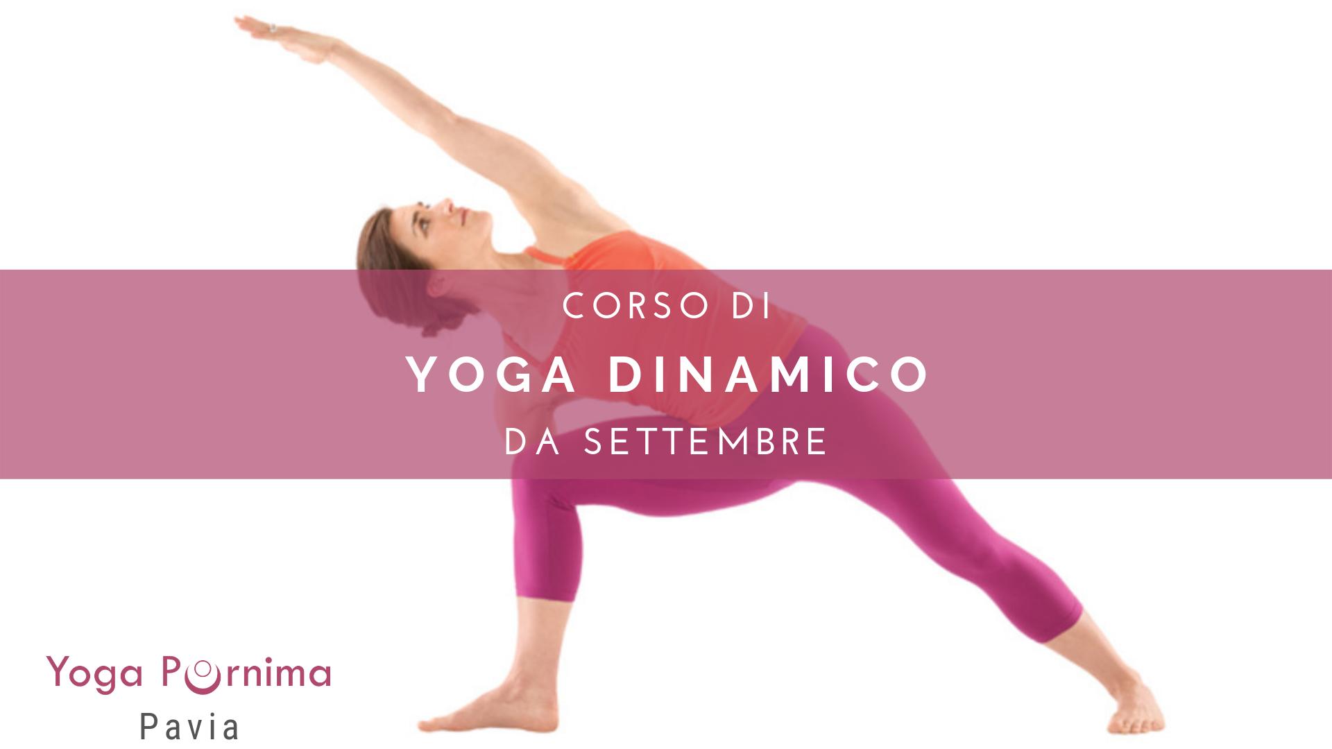 Ricominciano i corsi di Yoga dinamico!