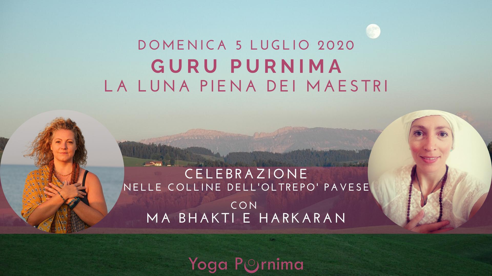 Guru Purnima Yoga Purnima Pavia