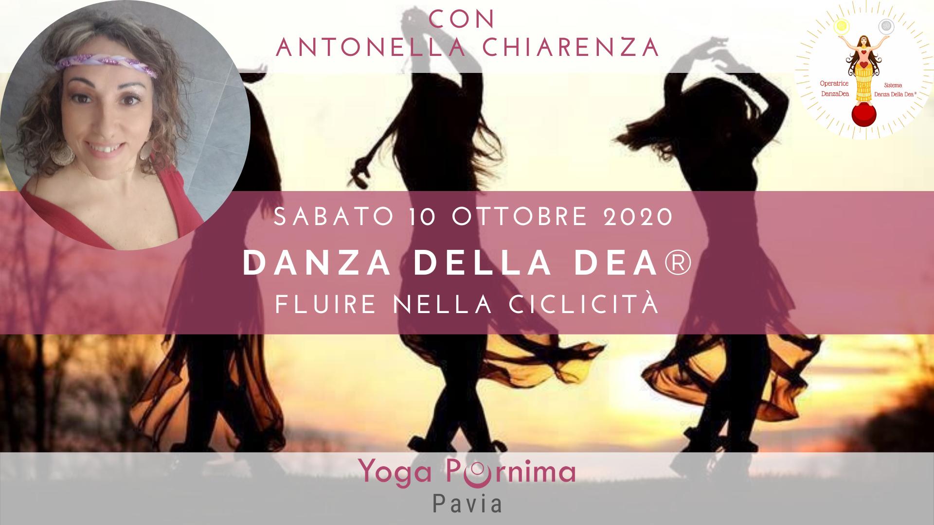 Sabato 10 ottobre: laboratorio esperenziale di presentazione Danza della Dea