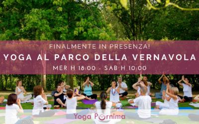 Nuovi incontri di Yoga al parco!