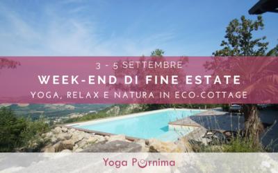 3-5 settembre: week-end Yoga di fine estate in Natura