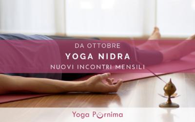 Nuovi incontri mensili di Yoga Nidra
